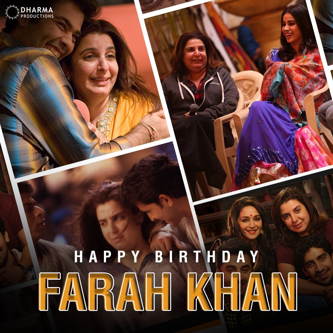 To the one who has given some of the most iconic hook steps in cinema and made them beloved over the years! Wishing the fierce woman & boss lady, @TheFarahKhan a very happy birthday!💃🏻
