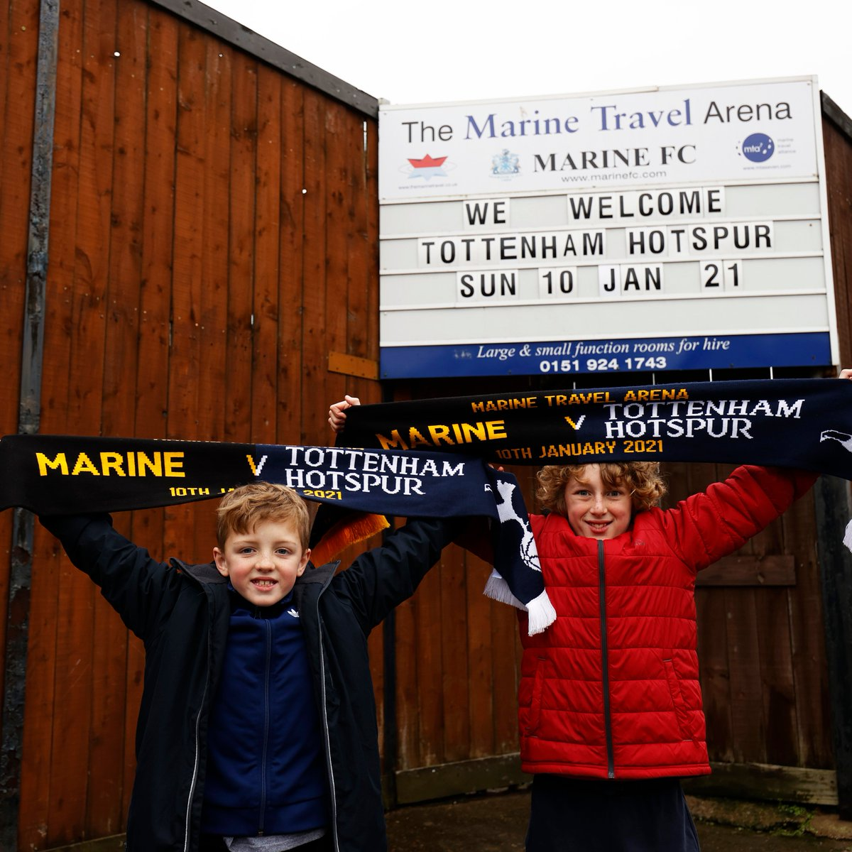 "😍 ""The whole story of the tie really has been magical""  🤝 @MarineAFC's chairman tells us that the generosity of @SpursOfficial fans has lifted the gloom and forged a special friendship ahead of the clubs' historic #FACup tie 🏆  ℹ️👉"