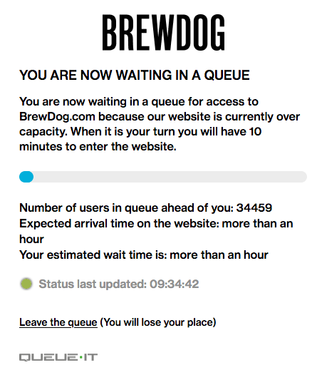 Wowsers, I'm closer to getting a vaccine than beer! #brewdog https://t.co/qbDlJwmpNl