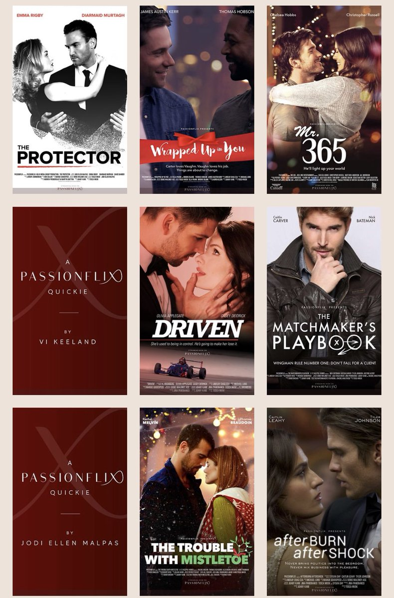 Love romance?  Need a diversion?  It's right here. @PassionFlix will take you to romantic places you've only dreamed of - check out some of what's streaming right now! ❤️ Thank you @ToscaMusk & team. We've never needed you more than right now. ❤️