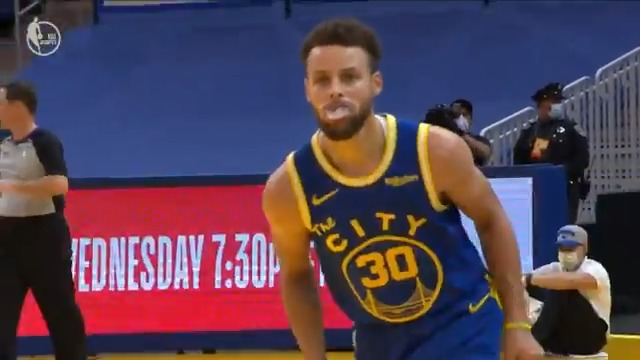 """""""That's not fair.""""  Chef Curry cooked PG 👨🏽🍳  (via @NBA) https://t.co/h18FQyCdhM"""