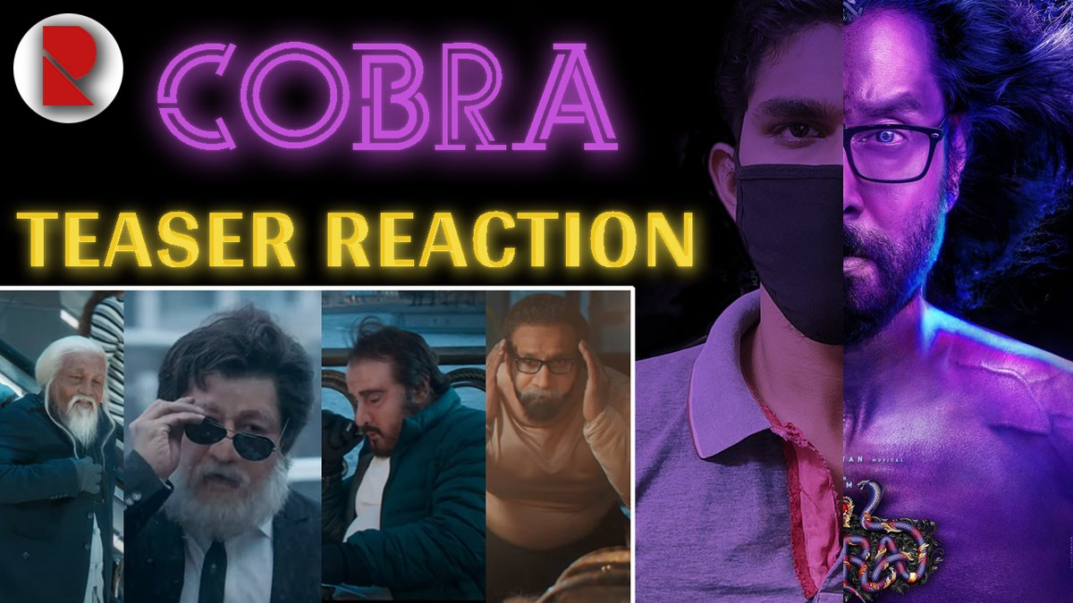 Cobra - Teaser Reaction 🤩🤩💀💀 @mrlanuk  . #CobraTeaser #Cobra #CobraKai #CobraSecondLook #TrumpBanned #TrumpIsACompleteFailure #ChiyaanVikram #VakeelSaab #WhatsApp #WhatsAppPrivacyPolicy #film  . Check Out -