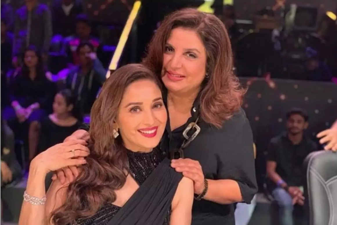 """Ladki o re ladki kaha see aye hai re tu"" 🤣 Happiest birthday greetings @TheFarahKhan. Sending you my hugs & lots of love for the year ahead. May this be the best one so far in all aspects of your life 🤗 ❤️ Hope to see you soon."