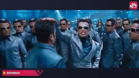 Namma elarkum pudicha black sheep scene itho! Ungaluku #Chitti pudikuma ila Villain 2.0 pudikuma?  Watch the full movie on   #Enthiran #BlackSheep #Rajinikanth #AishwariyaRai #Robot #Tamil #ActionMovie #Superstar #SUNNXT @rajinikanth @shankarshanmugh