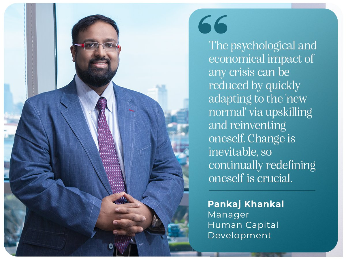 Let 2021 be all about forging your way ahead in the new normal. Our Manager - Human Capital Development - Pankaj Khankal, HRBP, CHRM stresses on flexing, adapting and responding to changes positively. #newyearresolutions #adapt #positiveimpact #iamscientechnic https://t.co/gGhfPOGZwr