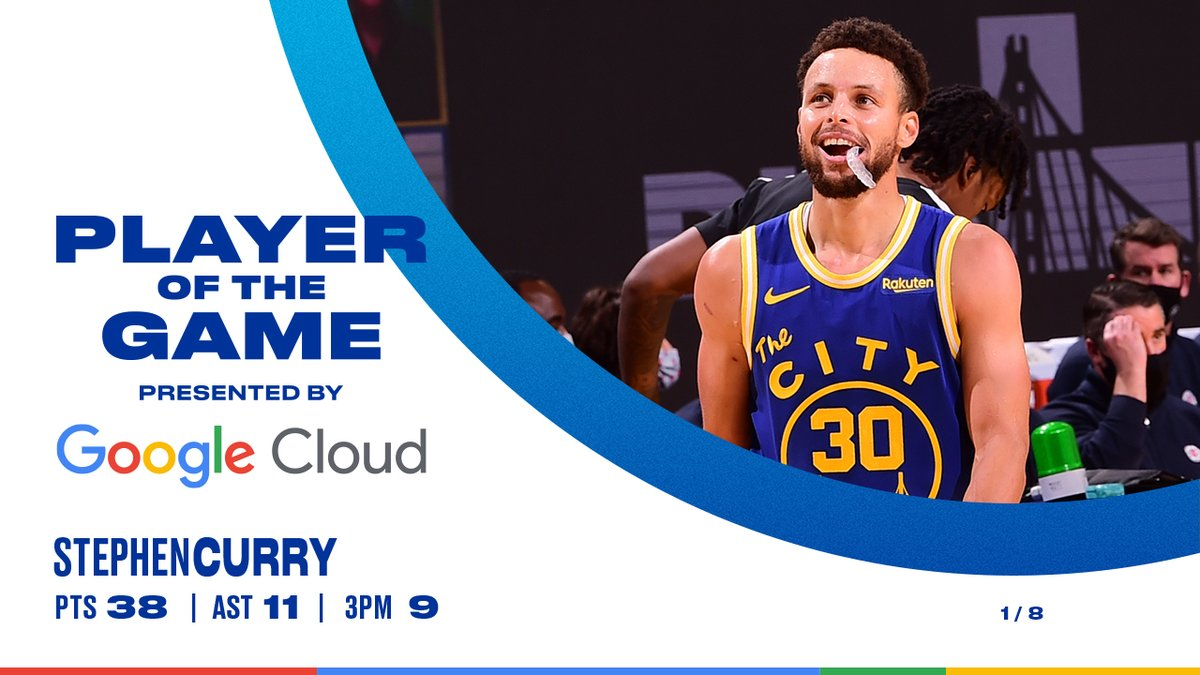sauce.  Player of the Game    @googlecloud https://t.co/Cnd4A0T9mn