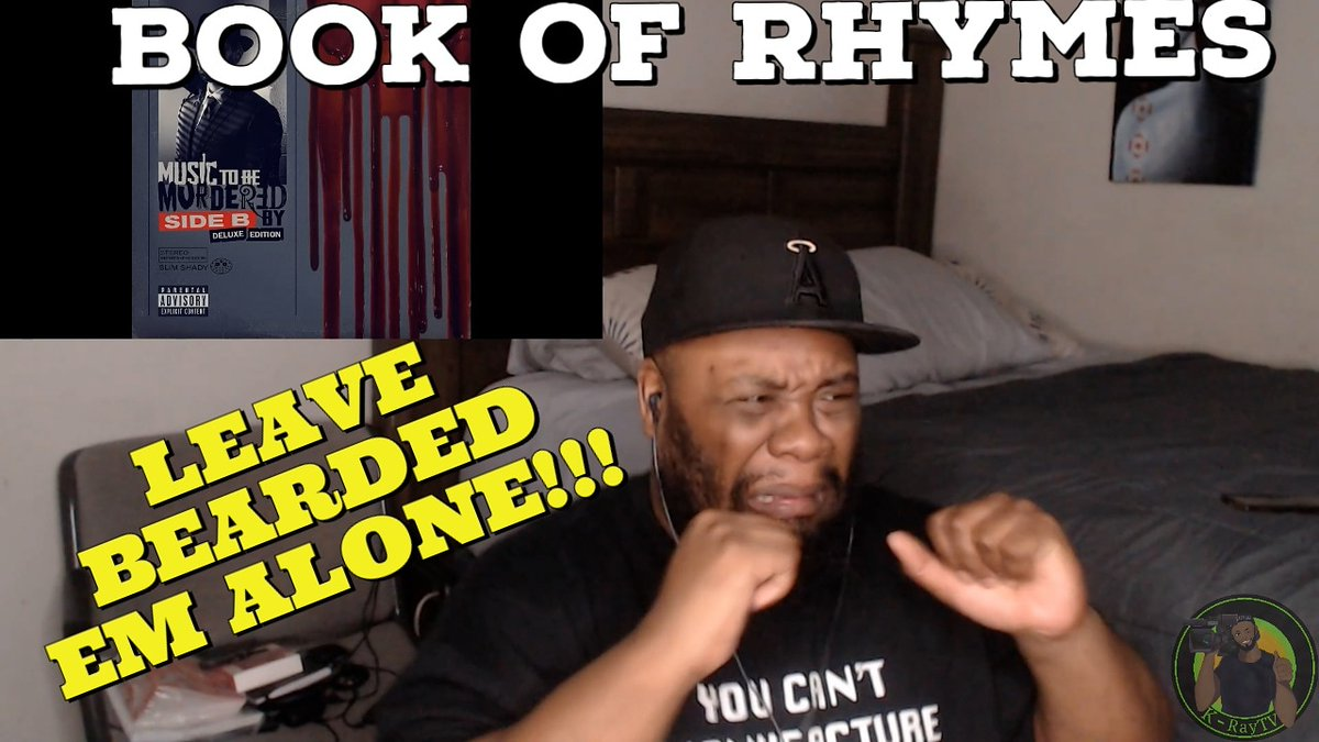 This was a ryhming clinic from start to finish and if you forgot @Eminem definitely reminds you here that he is a GOAT Emcee!!! Check out my reaction to this lyrical homicide! #kraytv #DreamSquad #musictobemurderedbysideb #Eminem #bookofrhymes