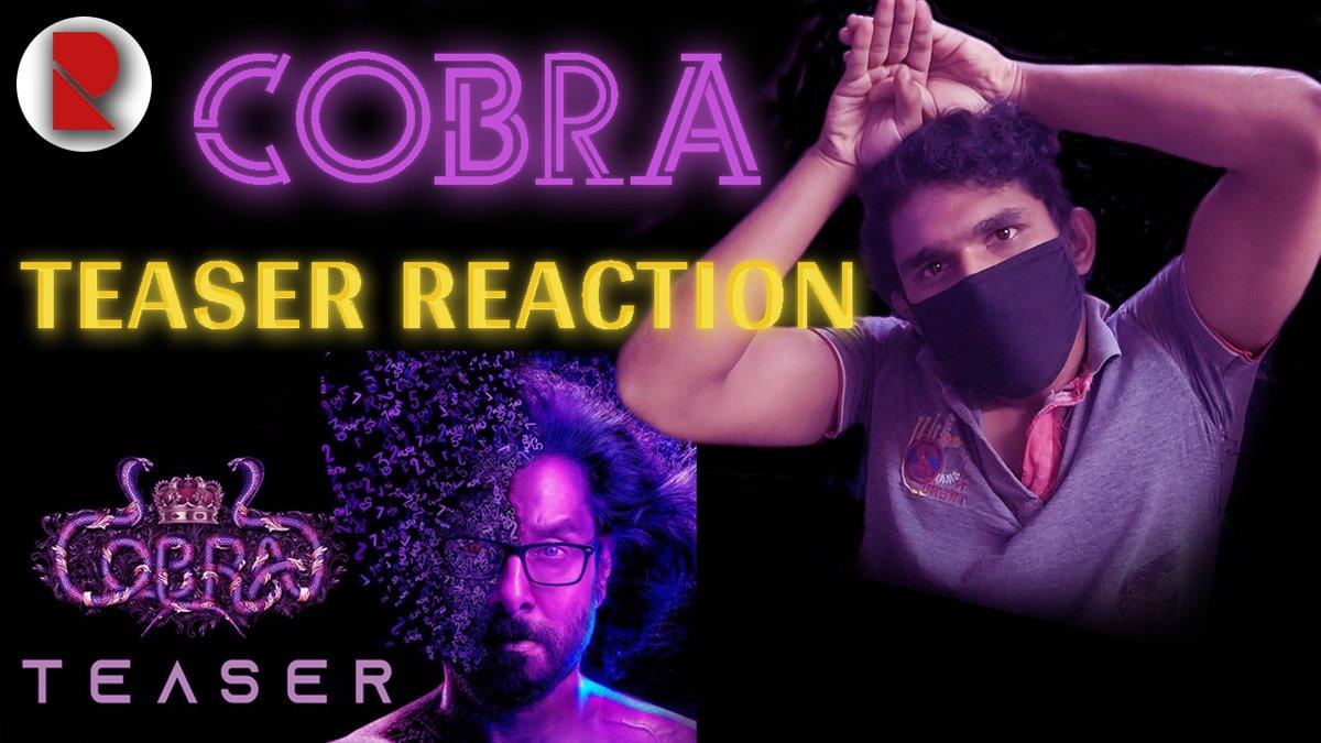 Cobra - Teaser Reaction 🤩🤩💀💀 @mrlanuk  . #CobraTeaser #Cobra  #CobraKai  #CobraSecondLook  #Vikram  #ChiyaanVikram #WhatsappNewPolicy #WhatsApp #krack #KrackMovie #REDTheFilm #AUSvIND #RaviTeja #Nani #VakeelSaabTEASER #RadheShyam  . Check Out -