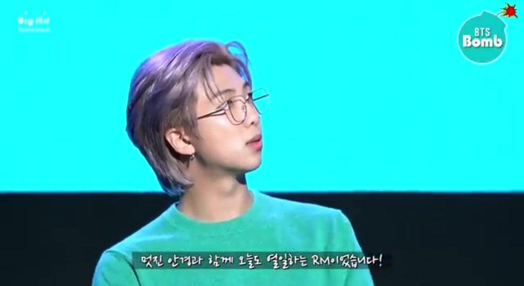 [BANGTAN BOMB] Which Glasses Should RM Wear? - BTS (방탄소년단) 👓✨  ()  #방탄밤 #그의_최종_선택은 #RM_더하기_안경은_분위기완성