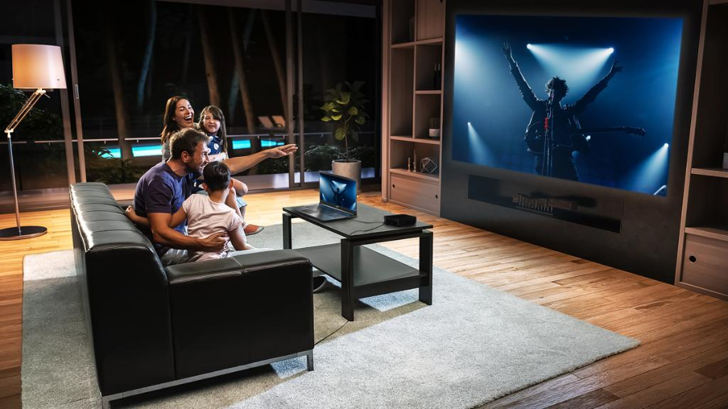 Embrace the acoustics from your living room. With the #B250i #AcerProjector's brilliant image quality and Acer TrueHarmony™, you'll feel like you're part of the crowd: https://t.co/TZLN8HGqrk https://t.co/2oj7dSnTr6