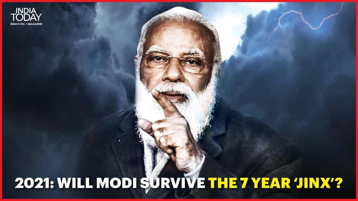 1973: Indira Gandhi's decline started  2004: Atal Bihari Vajpayee lost  2011: Manmohan Singh's decline started  What's Common in the above 3 scenarios?  Click  to know the answer  #MagazinePromo