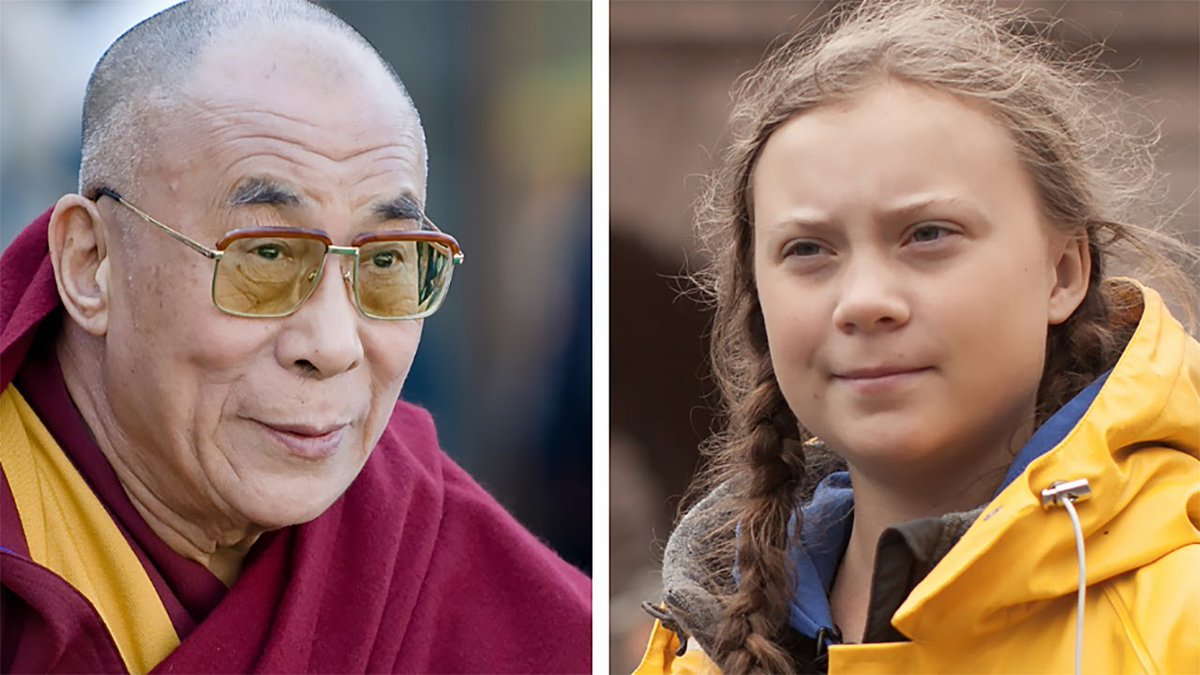 Watch Live - HHDL in  conversation with Greta Thunberg and leading scientists on the Climate Crisis of Feedback Loops on Jan 10th at 9am Indian Standard Time (Jan 9th 10:30pm EST). https://t.co/cowTiKnH9w https://t.co/r8FBlwpl1w