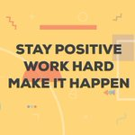 Our 2021 mantra! #staypostitive #workhard #makeithappen