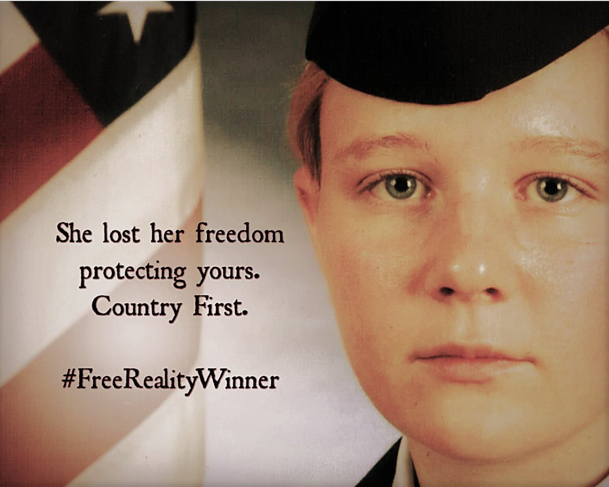 #SaturdayMorning My daughter remains in prison for releasing proof of a foreign attack on our voting systems.  #RealityWinner #FreeRealityWinner https://t.co/RyN0bN0wr8