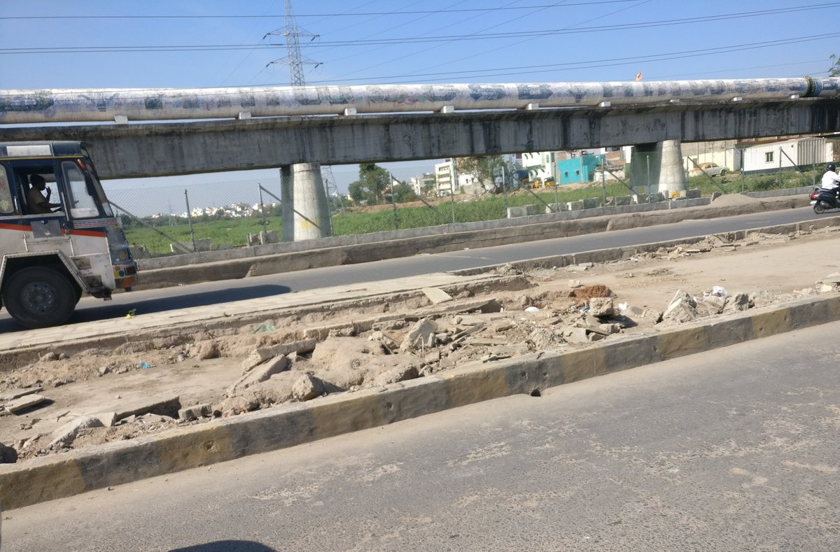 Moosarambagh Bridge need restoration ASAP. After floods, left without any renovation. Not sure what's the plan when each and every corner of the city is being decorated with new logos & statues. Humpy bumpy road causing inconvenience @WithCitizen