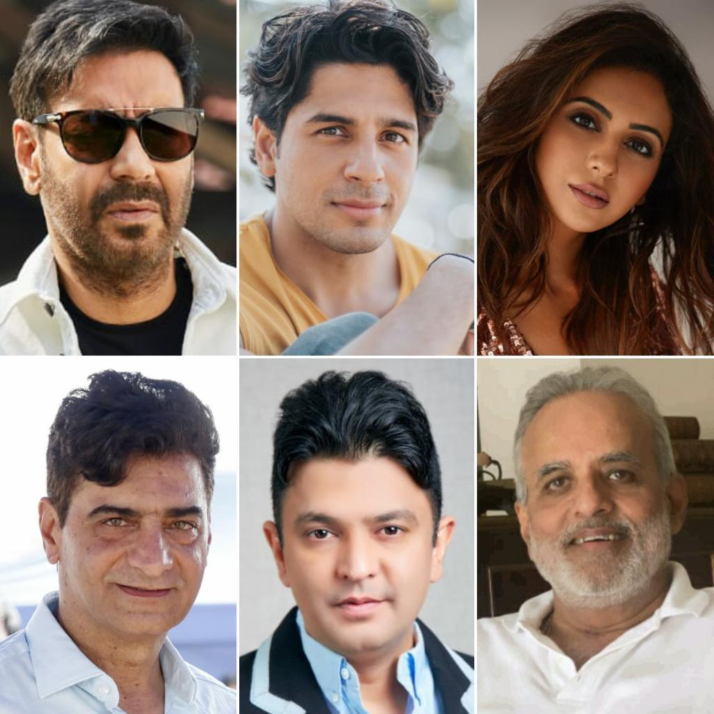 @ajaydevgn @SidMalhotra @Rakulpreet come together for #BhushanKumar #krishankumar #IndraKumar #AshokThakeria's #ThankGod The film is set to go on floors 21st Jan 2021. A @TSeries & #MarutiInternationalproduction @SunirKheterpal @anandpandit63 @DeepakMukut Coproduced by #YashShah