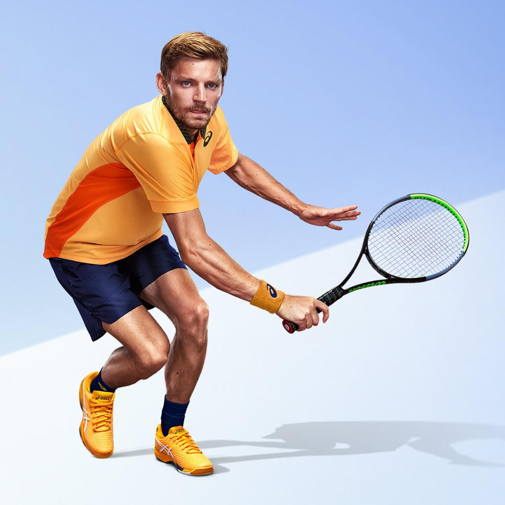 """""""With the new SOLUTION SPEED™ FF 2 shoes, I feel lighter and faster and I have a better grip on the court. So, no matter how much I change direction, I always feel confident that my shoes will hold up.""""  – @David__Goffin  #ASICSTennis #SOLUTIONSPEEDFF https://t.co/sXc3B9ZD4v"""