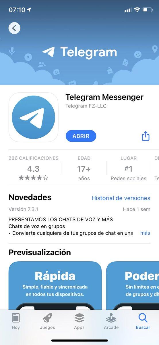 Hola @telegram @telegram_es soy yo de nuevo😂🤷🏼♂️