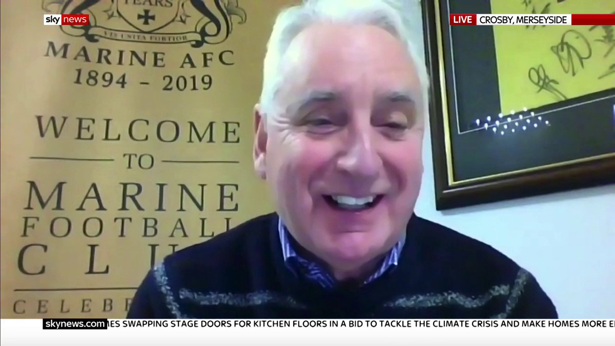 """Tottenham fans are absolute magic.""  @SpursOfficial face non-league @MarineAFC tomorrow in the FA Cup 3rd round - and Marine FC chairman Paul Leary says supporters have bought 10,000 ""virtual match tickets"".  Read the latest top stories here:"