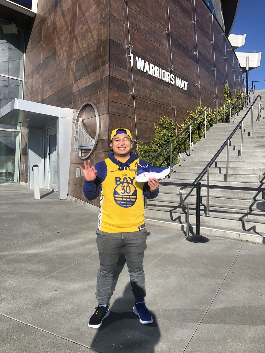 Thank you @StephenCurry30 Flow Like Water #CurryBrand #WarriorsGround