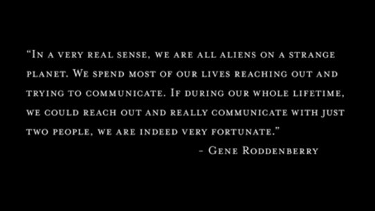 Love this quote from Gene Roddenberry https://t.co/2GoJn4U8Q1