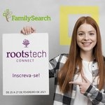 Image for the Tweet beginning: Rootstech Connect 2021! Virtual e