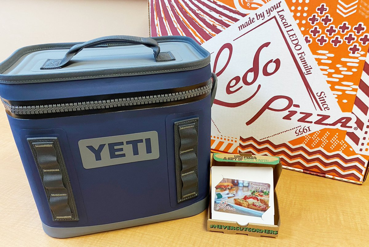 🏈 Ledo Pizza & Yeti Cooler GIVEAWAY 🏈  RETWEET & FOLLOW for a chance to win a $50 #LEDOPIZZA GIFT CARD & YETI COOLER! Thank You Dole Lemonade for the Yeti Prize!  (1 winner picked at 9pm 1/10/21)  TAILGATE AT HOME this weekend with our Football Deal 🏈