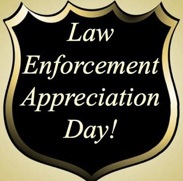I am grateful for all of the men and women that serve in law enforcement nationwide. On this #NationalLawEnforcementAppreciationDay we honor and recognize the strength of these brave men and women.