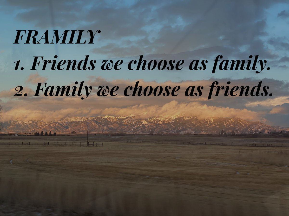 #oneword2021 #Framily #friends #family 2020 taught me what is most important to me. In 2021, I plan to remember. @apadalino @BringEdLife
