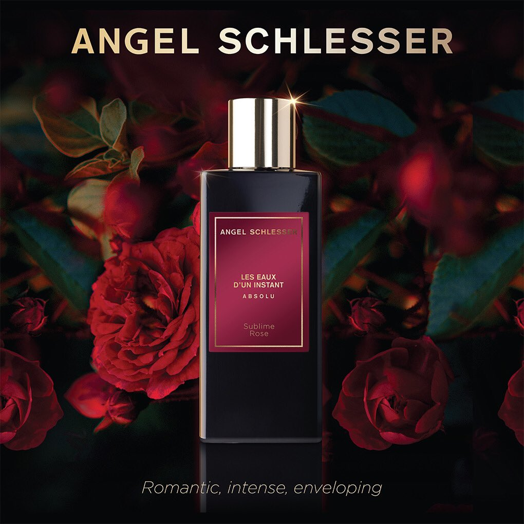 ANGEL SCHLESSER LES EAUX D'UN INSTANT #ABSOLU-SUNBLIME ROSE;  When you feel the instant of the new fragrance by #AngelSchlesser, #SublimeRose: Shop online @ https://t.co/eyNUgmcdgU            #AngelSchlesser #angelschlesserparfums #fragrancecollection #Jashanmal #Bahrain https://t.co/qqcpEddVsf