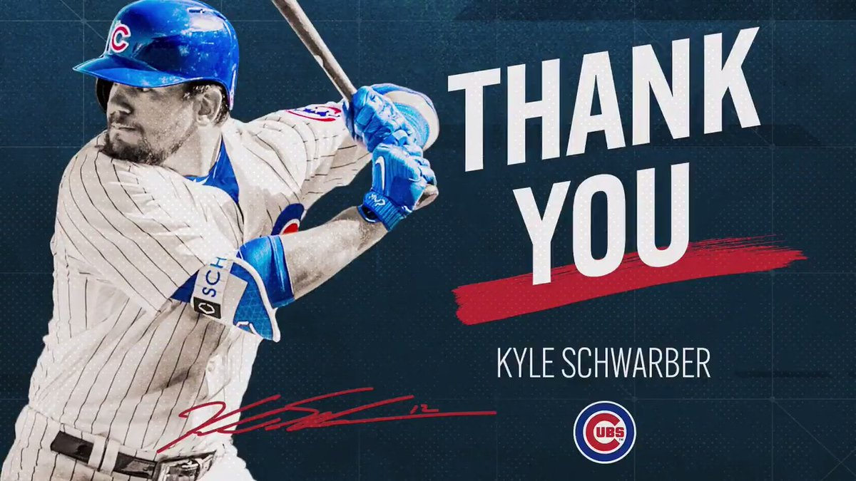 Thank you to @kschwarb12 for your kindness, generosity and resilience.  You gave us moments #Cubs fans will never forget.