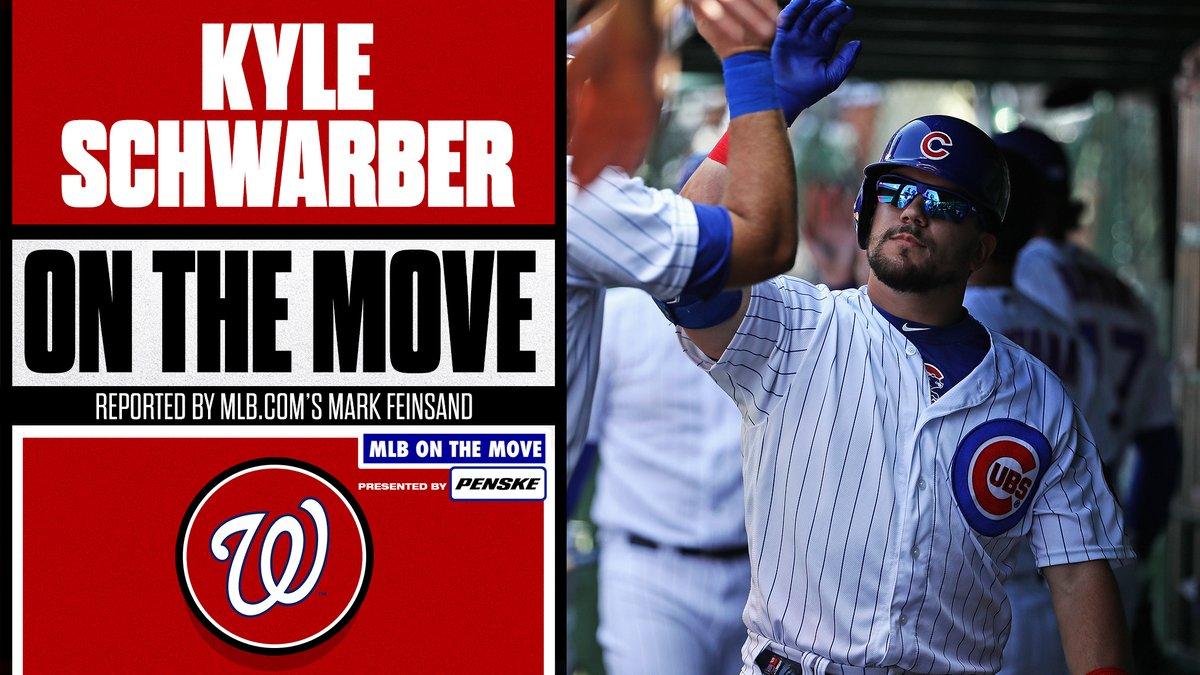 @MLB's photo on Schwarber