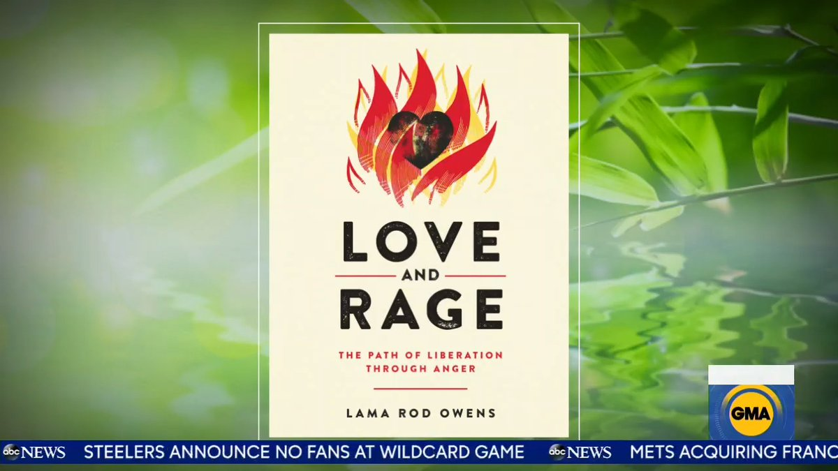 "How to de-stress amid uncomfortable and upsetting news. Lama Rod Owens, meditation expert and author of ""Love and Rage,"" talks to viewers about how to maintain mindfulness while processing anxiety, anger and sadness.   @LamaRod1"