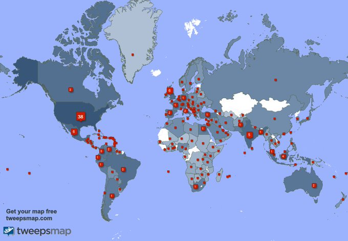 Special thank you to my 940 new followers from USA, India, UK., and more last week. https://t.co/HHVQXu5E7A