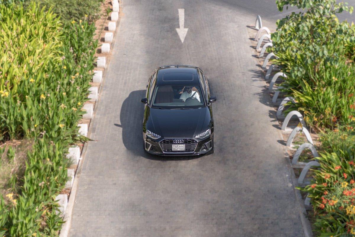 Don't follow the path. Blaze the trail  #Audi #Audisaudiarabia #AudiA4 #A4 #Vehicles #Automotive #أودي #أودي_السعودية #سيارات