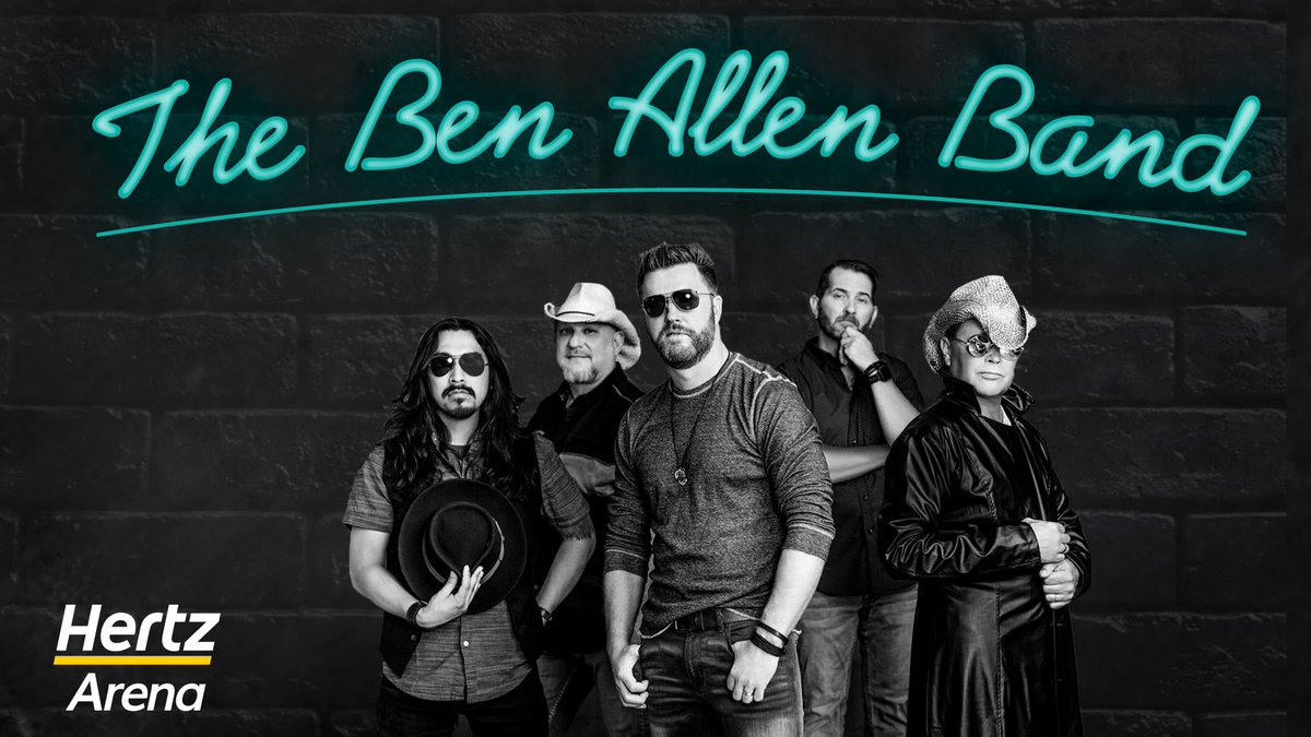 Today is the day! If you are coming out to the @BenAllenband show today, below are all the details you may need to know: 🚪6:00 PM ⏰7:00 PM 👜 Clear bag policy is in place!  🚗 Parking is FREE, courtesy of Hoffmann Family Of Companies 😷Masks are MANDATORY