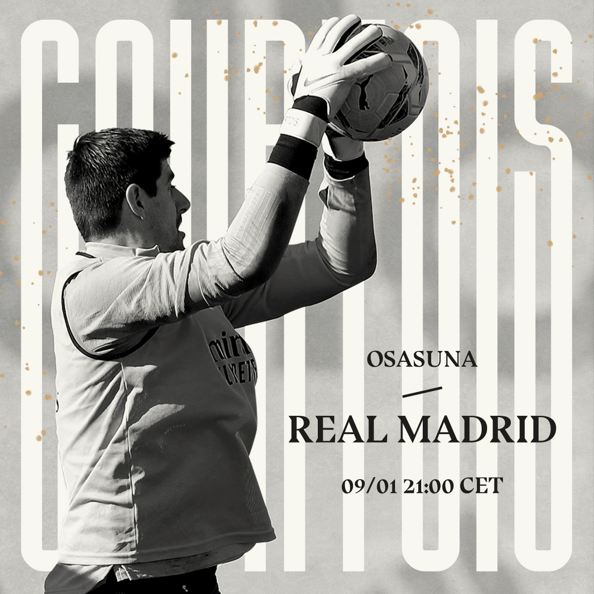Matchday 18! We're well prepared for tonight. 👊🏻 #HalaMadrid