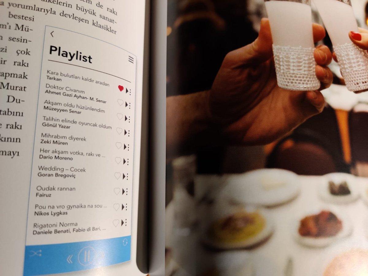 """İmbikten Kadehe kitabımda her içki için tematik şarkı listeleri oluşturdum  Okurken dinlemek isterseniz Spotify'da """"İmbikten Kadehe"""" diye aratmanız yeterli  #Rakı listemde elbette dedem de var💙  #DoktorCivanım    @epsilonyayinevi https://t.co/Nt9QjhBn9h"""
