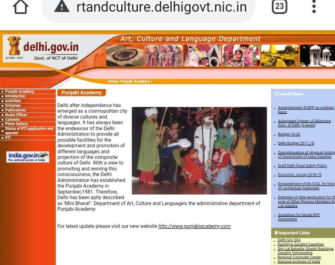 @SPS191 @abhinandita_m @ArvindKejriwal @msisodia @PramodGoa Have some knowledge before saying...sardar thoda updated rahiye....or Punjabi national nahi international language hai....delhi govt is best among all