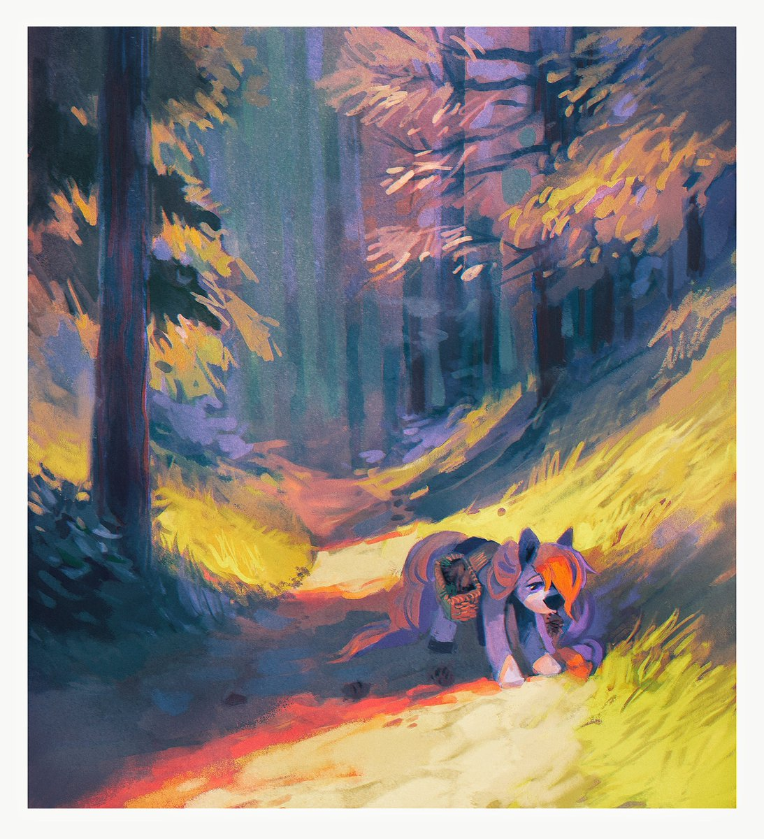 Landscape commissions are probably my favorite ^w^