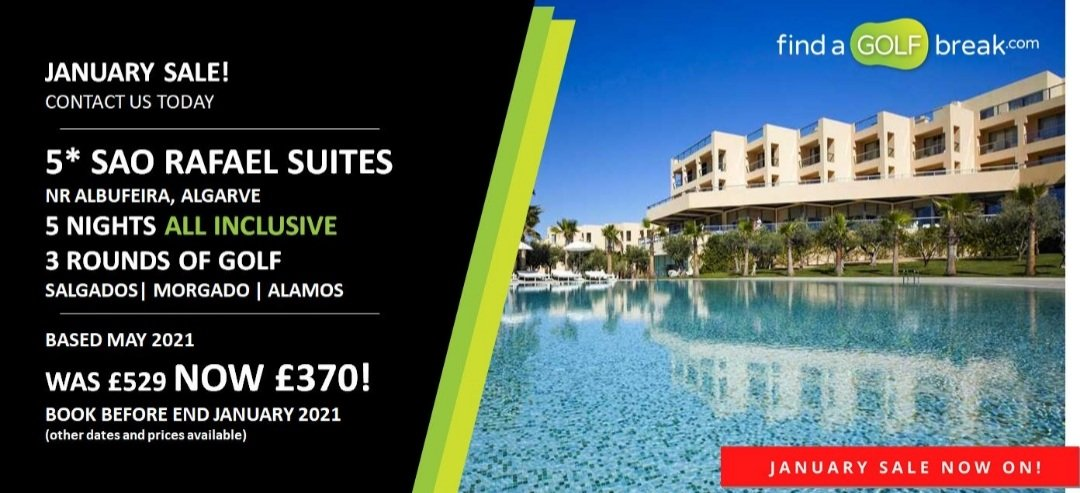 ⏰ JANUARY SALE: All Inclusive offer... findagolfbreak.com/accommodation/… Book in January, travel later in 2021....