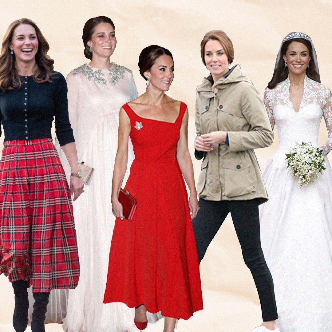 ¡Hoy #KateMiddelton cumple 39 aaños! 👑 Repasamos los 5 𝑙𝑜𝑜𝑘𝑠 más 𝑓𝑎𝑠ℎ𝑖𝑜𝑛 de la Duquesa de Cambridge. https://t.co/1VAgMOrSkX