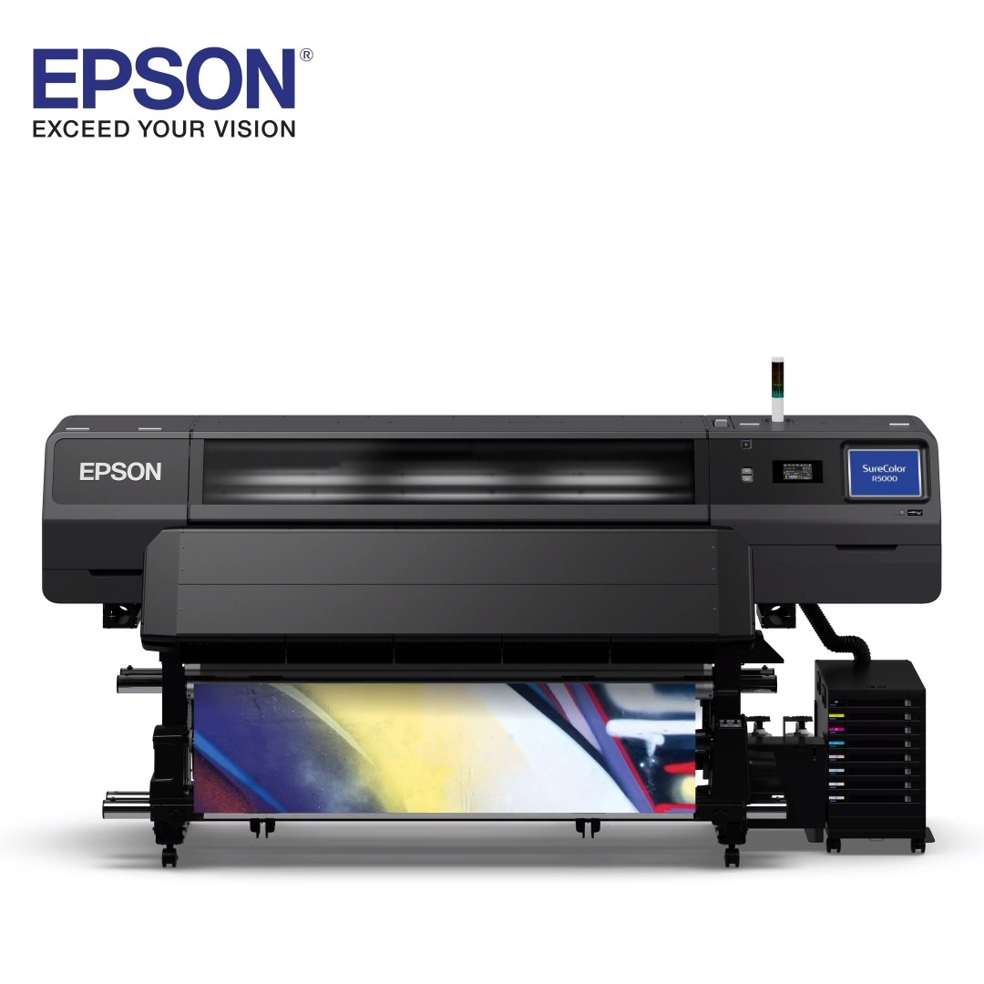 With the NEW Epson SureColor R5070 resin printer, you get consistent color quality and immediate lamination. Oh, yeah -  we're on a roll!   #resin #ink #surecolor #signageprint #signage #qualityprint