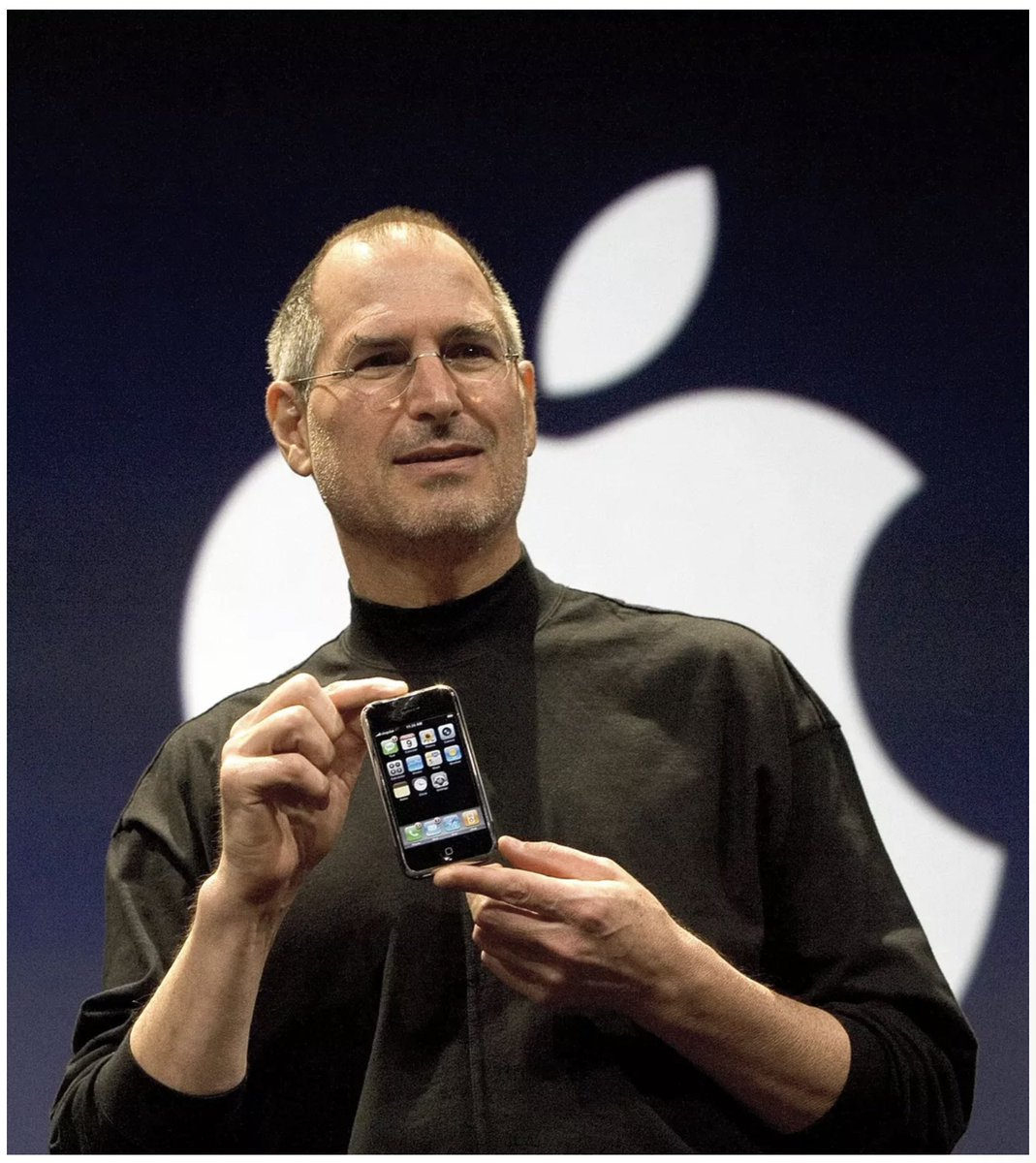 """Today is the 13th anniversary iPhone announcement—easily one of the greatest launch events and moments of technology change in history. What was the """"world"""" like at the time? When something changes the world so much it seems obvious in hindsight. That was not at all the case. 1/ https://t.co/ZR3g7UkWEn"""