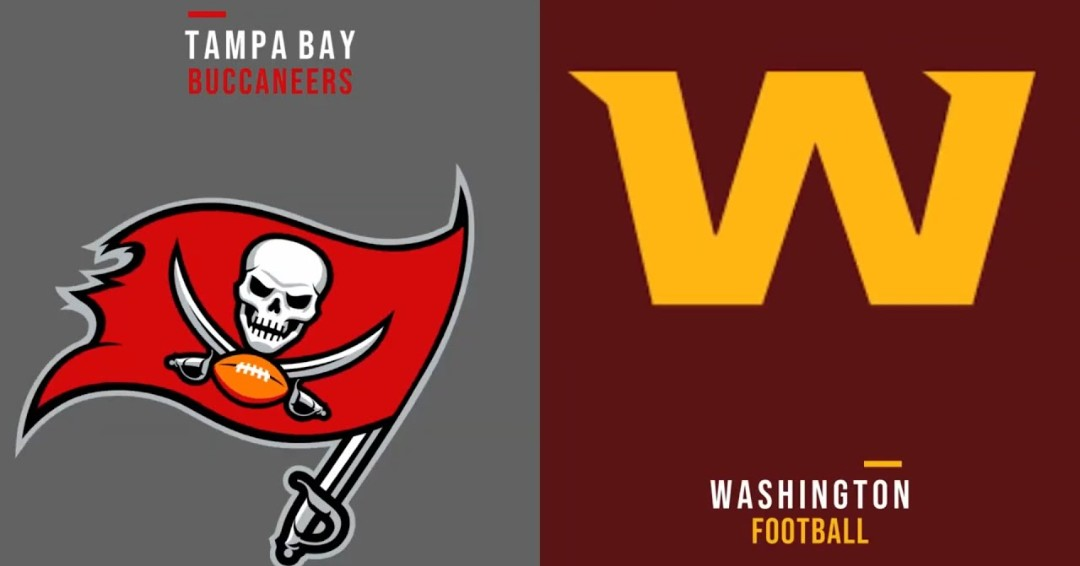 The Tampa Bay Buccaneers & the Washington Football team meet in an NFC Wild Card matchup from FedEx Field at 8:15PM(et). The Tampa Bay Buccaneers come into this one as the #5 seed in the NFC. The Washington Football team enter this game 7-9 of a brutal NFC East division season.