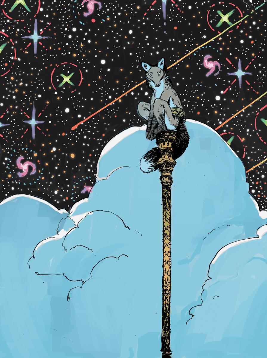 Starwatching Pole