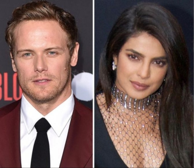 @priyankachopra @SamHeughan @celinedion @russelltovey @SofiaBarclay @eshornstein @SonyPictures @thunderroadpics It is My #1 Movie to see My two Favorites #SamHeughan #PriyankaChopra in #TextForYouMovie