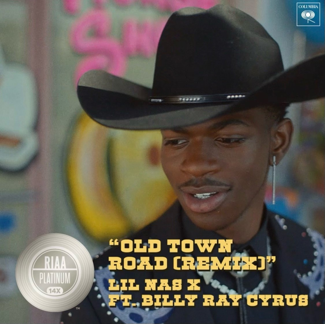 """""""Old Town Road"""" by @LilNasX and @billyraycyrus makes history again, now the highest @RIAA certified song ever https://t.co/M6EAJ8jeWp https://t.co/lp5b686P8b"""