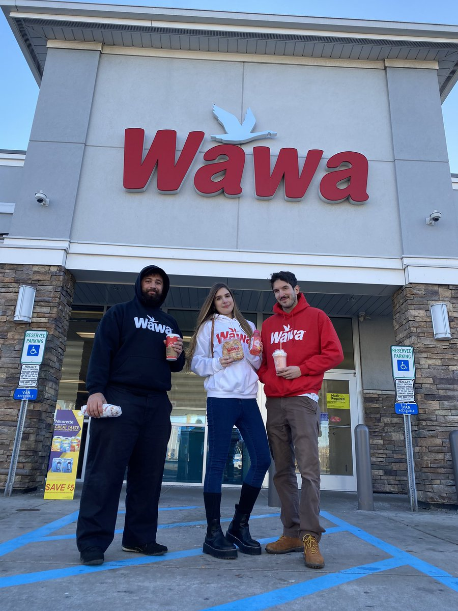 Can you tell how much we love @Wawa ?   📸-@domxdelfino