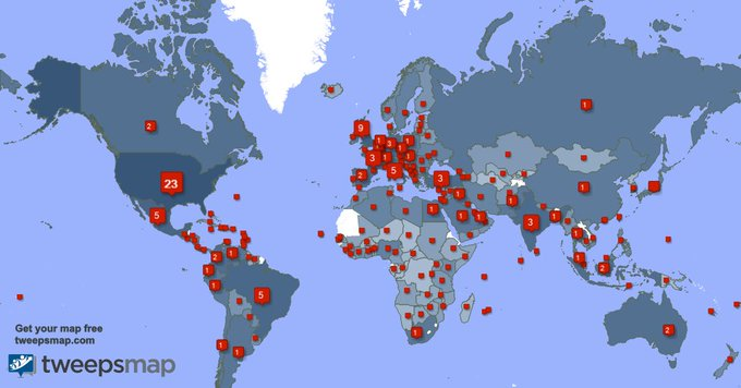 Special thank you to my 1049 new followers from USA, India, Turkey, and more last week. https://t.co/61O21jzJ1V